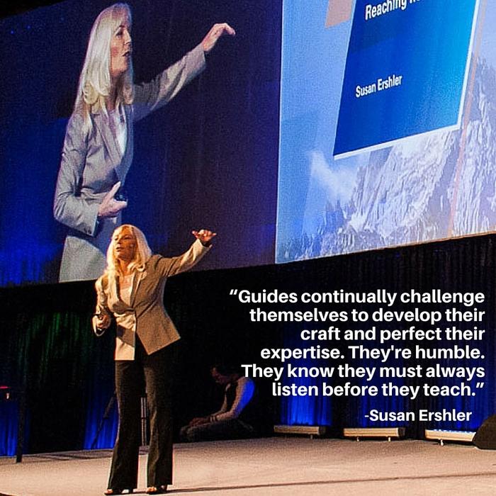 Susan Ershler, Sue Ershler, Seven Summits of Sales, Pitfall of Success, Process, Guide, Business Success