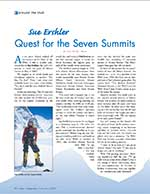 Sue Ershler: Quest for the Seven Summits