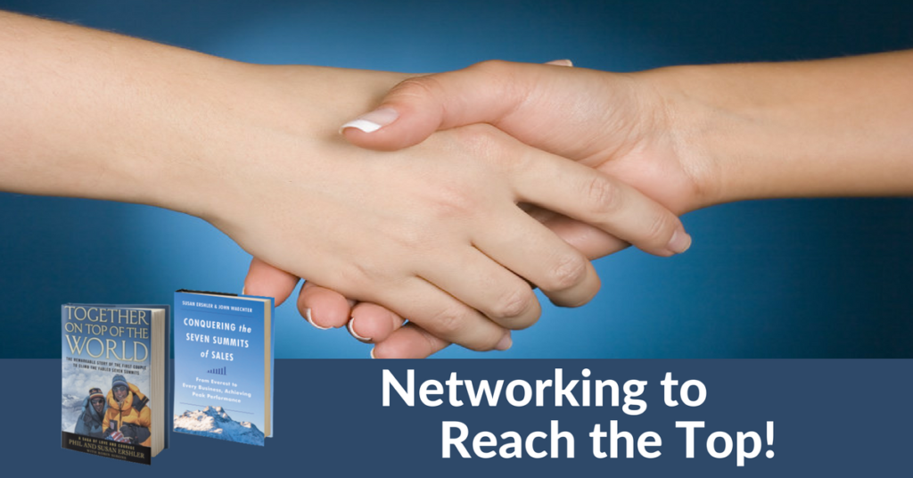 Networking to Reach the Top with International Leadership Speaker Susan Ershler